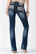 Load image into Gallery viewer, Miss Me Golden Sunset Mid-Rise Boot Cut Women's Jeans
