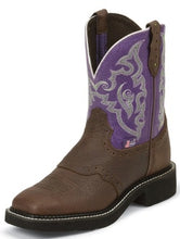 Load image into Gallery viewer, Justin Gypsy Women's Lavender Copper Kettle Boots