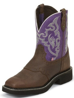 Justin Gypsy Women's Lavender Copper Kettle Boots
