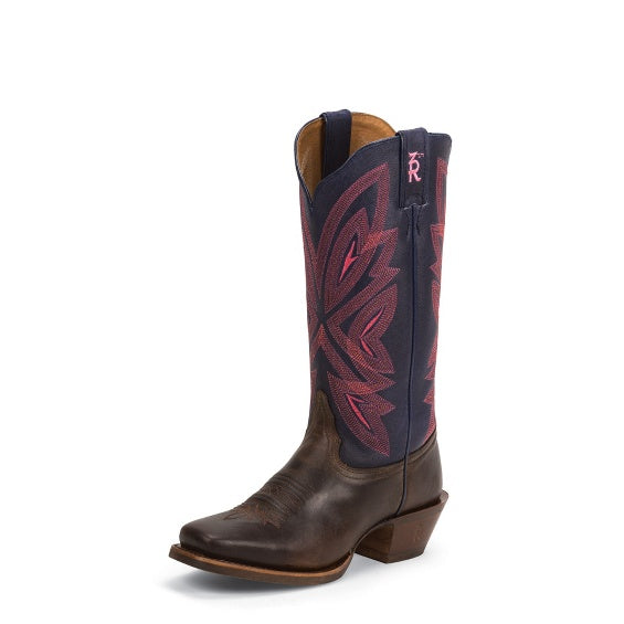 Tony Lama Women's Teran Navy Boots (Free Shipping on orders over $120.00)