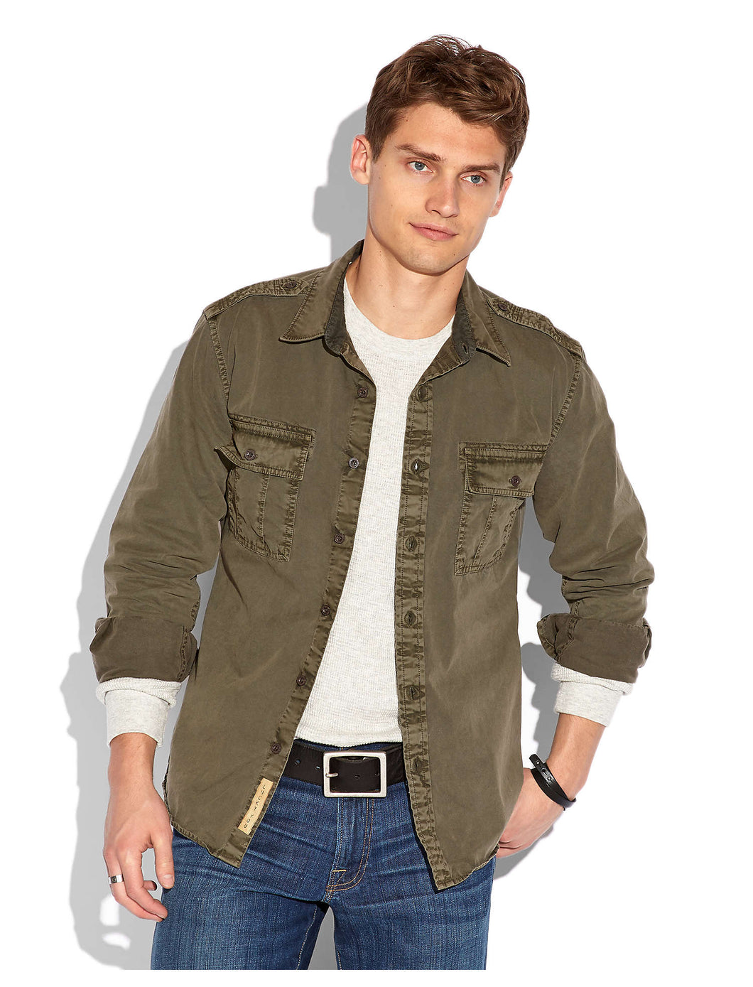 Lucky Men's Iron Workwear 2 Pocket Jacket