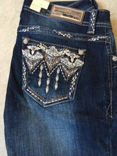 Load image into Gallery viewer, Grace in L.A. Women's Aztec Embroidered Jeans