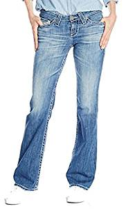 Big Star Ladies Light Wash Remy Low Rise Boot Cut Jeans