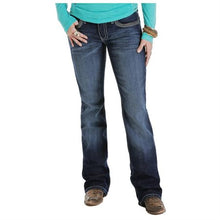 Load image into Gallery viewer, Cruel Girl Western Women's Blake Bootcut Dark Jeans