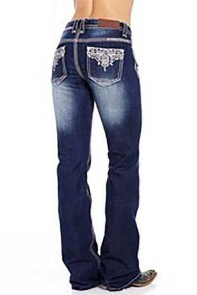 Cowgirl Up Ladies Santa Fe Low Rise Boot Cut Jeans