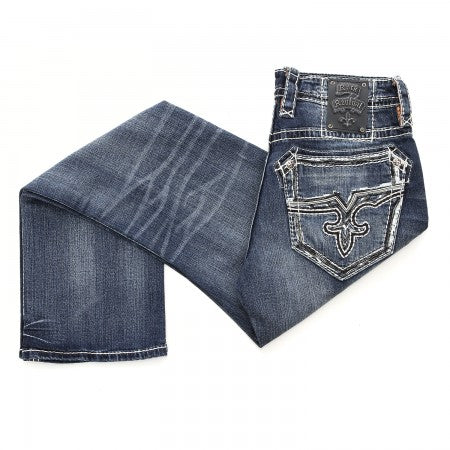Rock Revival Men's Nathan Straight Jeans