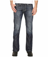 Load image into Gallery viewer, Rock & Roll Cowboy Men's Pistol Dark Vintage Bootcut Jeans