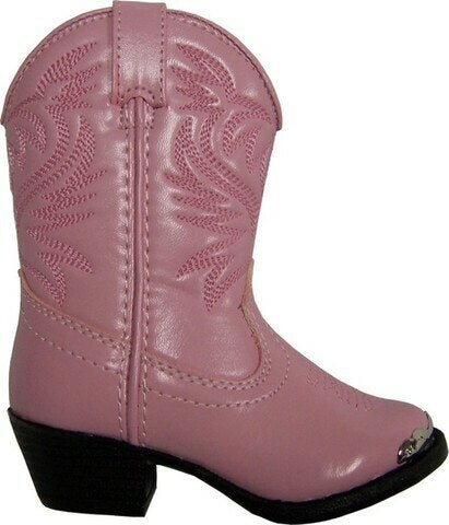 Smoky Mountain Pink Toddler Cowgirl Boots
