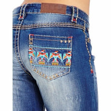 Load image into Gallery viewer, Grace in L.A. Women's Lacy Bootcut Fit Jeans