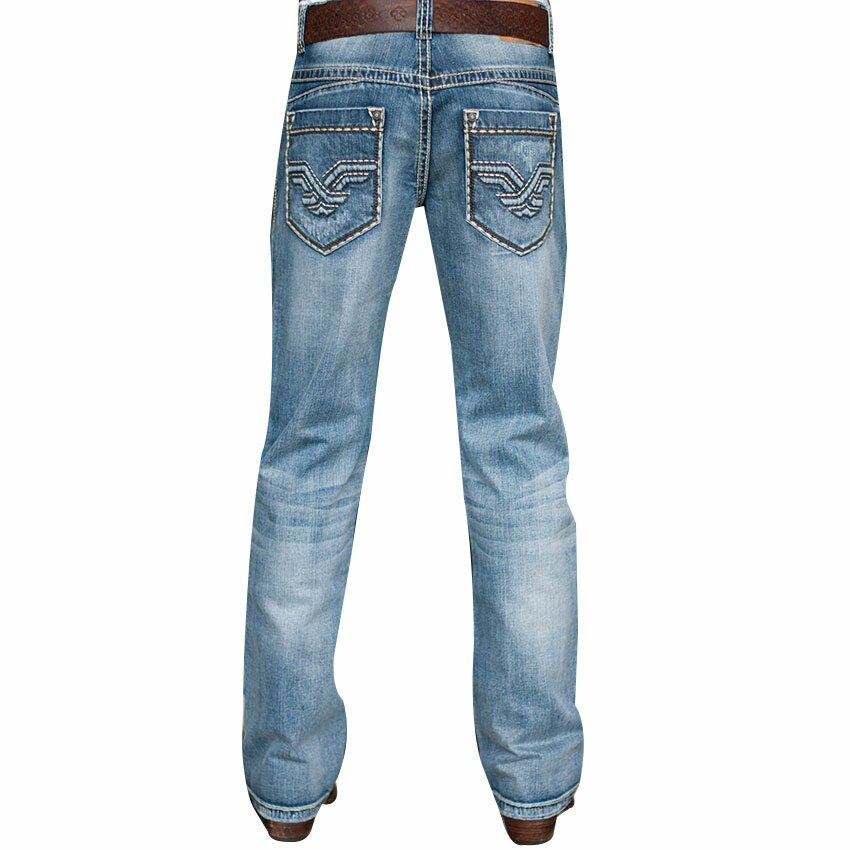 Petrol Men's Axle Regular Fit Boot Cut Jeans