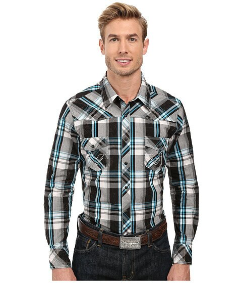 Rock And Roll Long Sleeve Plaid Shirt