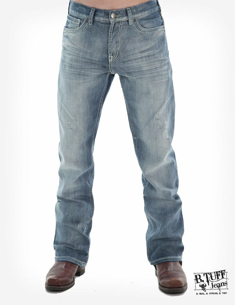 B Tuff  Men's Crush Western Jeans
