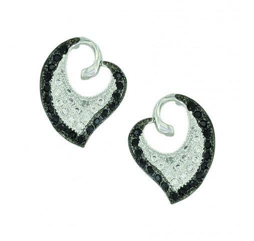 Montana Silversmiths Dancing Heart Earrings