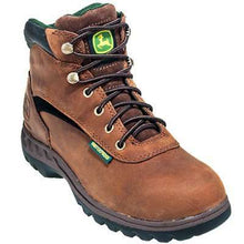 Load image into Gallery viewer, John Deere Boots: Women's Brown Moisture Wicking Waterproof Hiking Boots (Free Shipping on Orders Over $120.00)