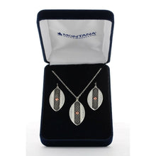 Load image into Gallery viewer, Montana Silversmith CrossCut Copper Diamond Marquise Jewelry Set