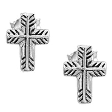 Load image into Gallery viewer, Montana Silversmiths Palm Leaf Cross Jewelry Set