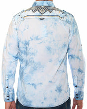 Load image into Gallery viewer, Austin Season Men's Long Sleeve Embroidered Button Long Sleeve Western Shirt
