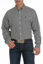 Load image into Gallery viewer, Cinch Men's Black, Purple And Olive Medallion Print Western Shirt