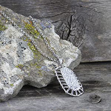 Load image into Gallery viewer, Montana Silversmiths Buckstitch Pave Necklace