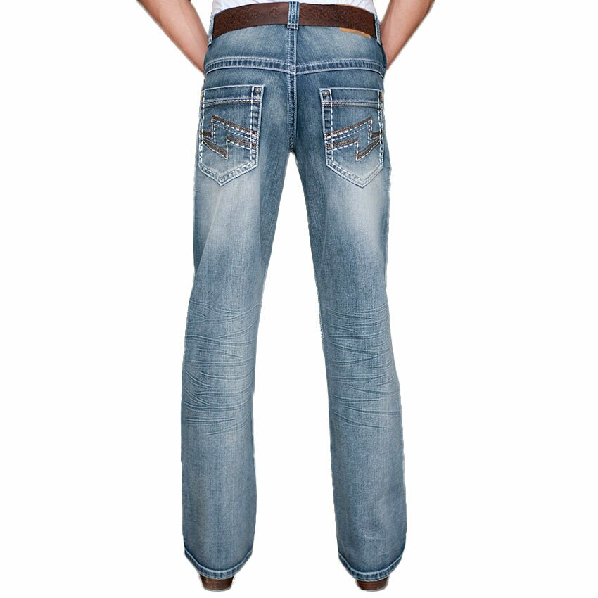 Petrol Men's Rod Relaxed Boot Cut Jeans (Free Shipping)