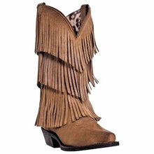 Load image into Gallery viewer, Dingo Women's Tres Fringe Boots (Free Shipping on orders over $120.00)
