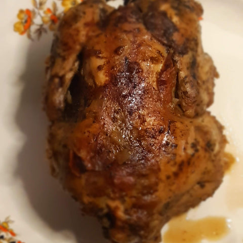 Stew Chicken (Cornish Game Hen)