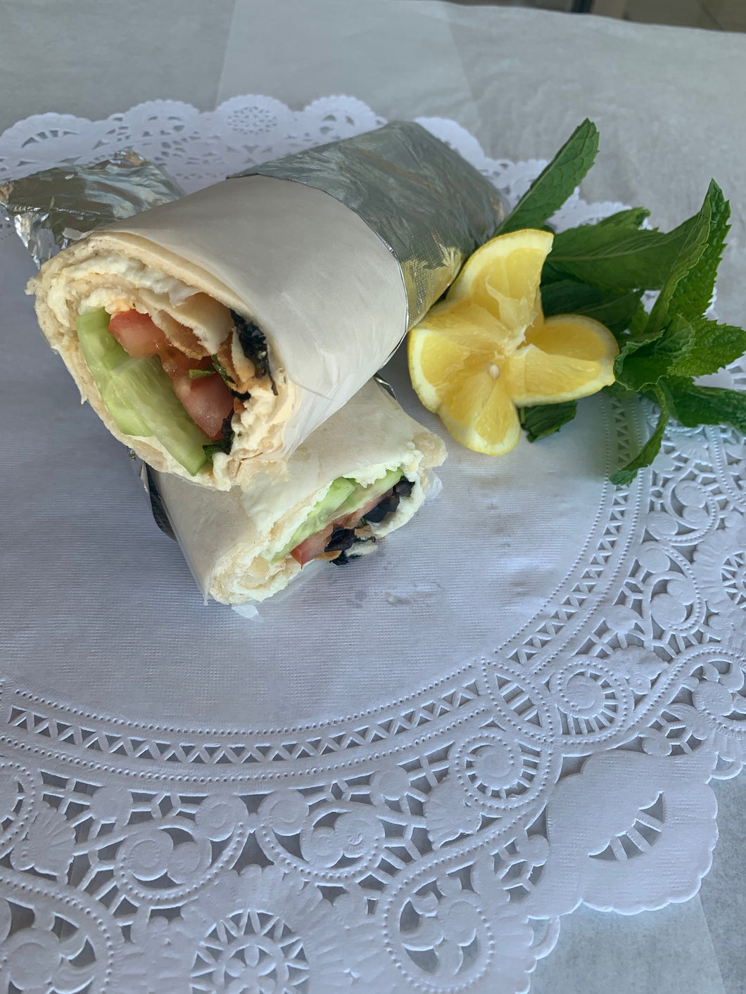 Cheese mashrouha Wrap