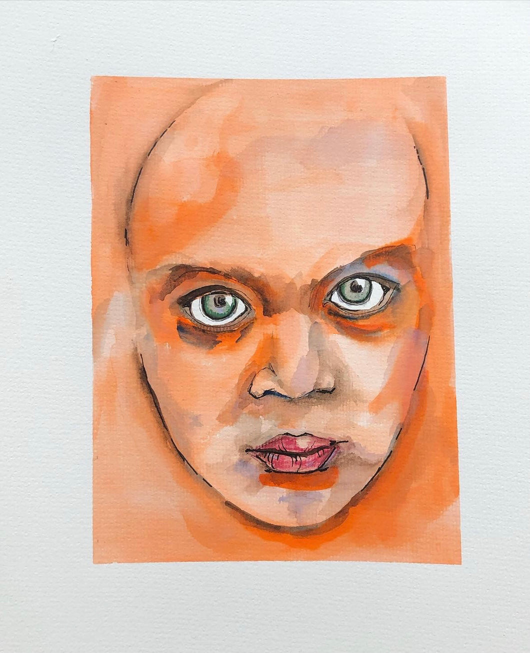 Watercolour original drawing / painting
