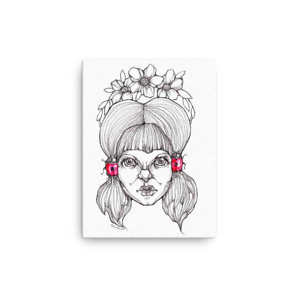 Girl 2 - Canvas (Print)