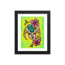 Load image into Gallery viewer, Girl 9 Coloured - Framed poster (Print)