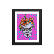 Load image into Gallery viewer, Girl 10 Coloured - Framed poster (Print)