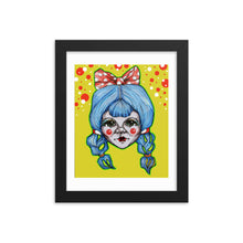 Load image into Gallery viewer, Girl 13 Coloured - Framed poster (Print)