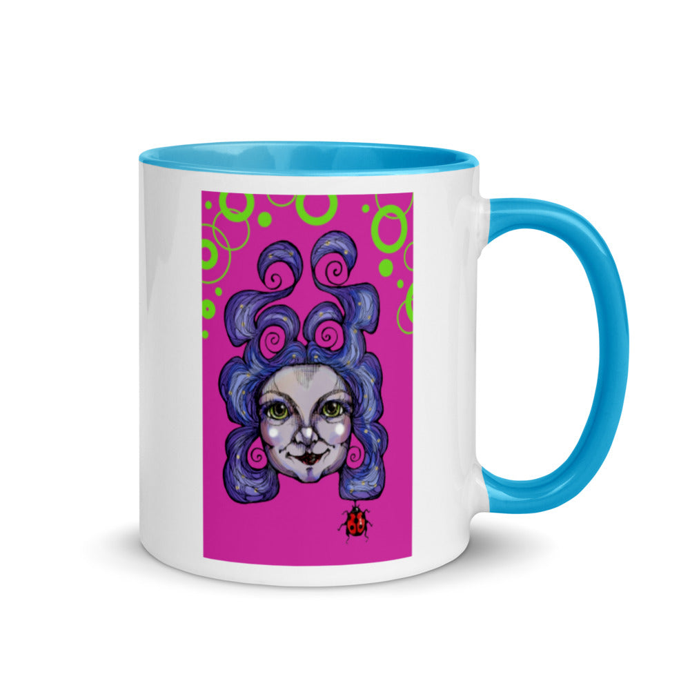 Girl 15 Coloured - Mug
