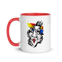 Load image into Gallery viewer, White & Red Strange - Mug