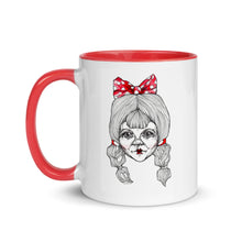 Load image into Gallery viewer, White & Red Girl 1 - Mug