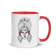 Load image into Gallery viewer, White & Red Girl 2 - Mug