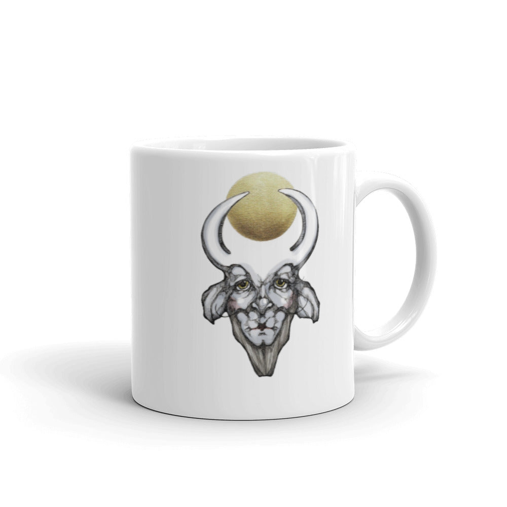 Satyr 6 Black & Gold - Mug