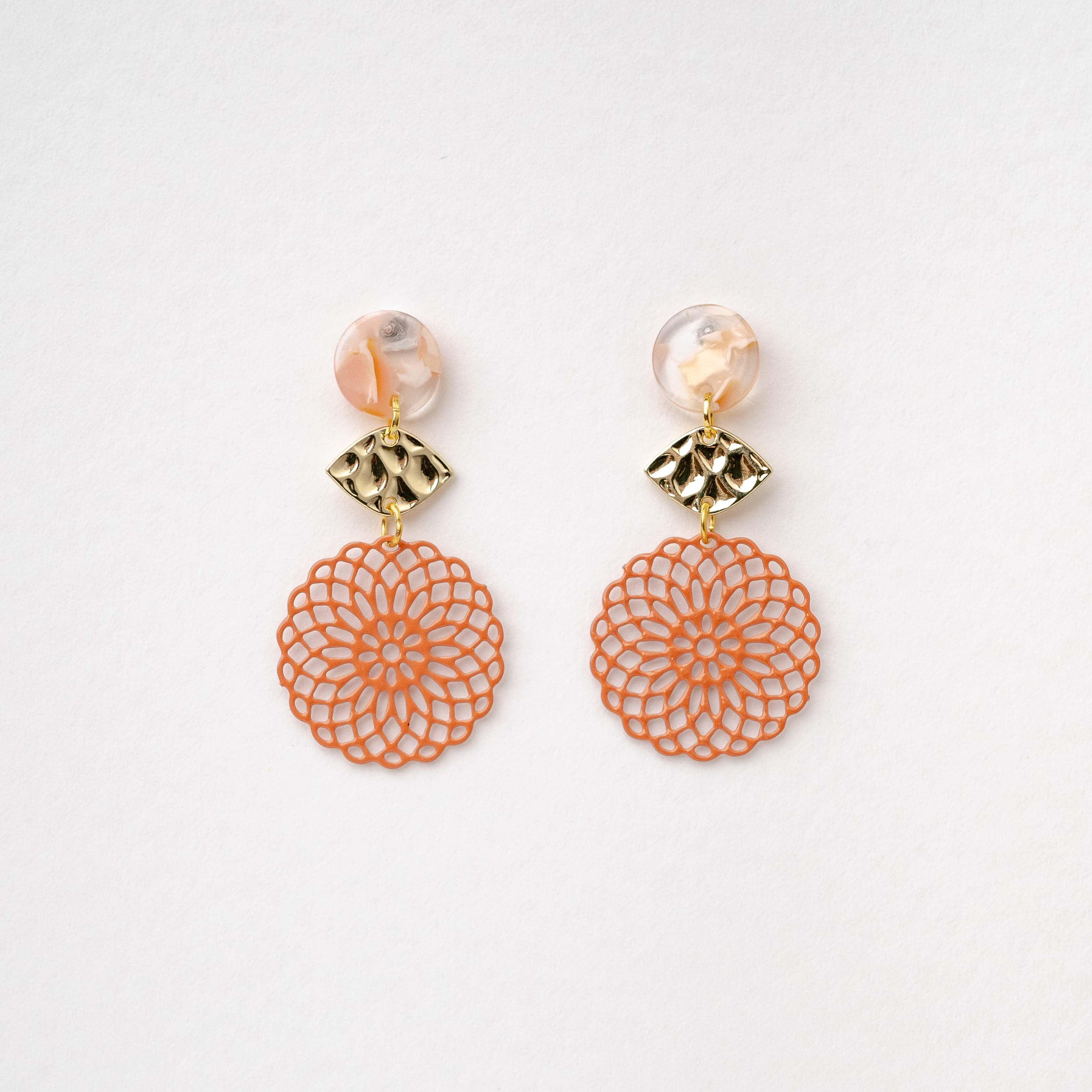 Isabella - Round Earring