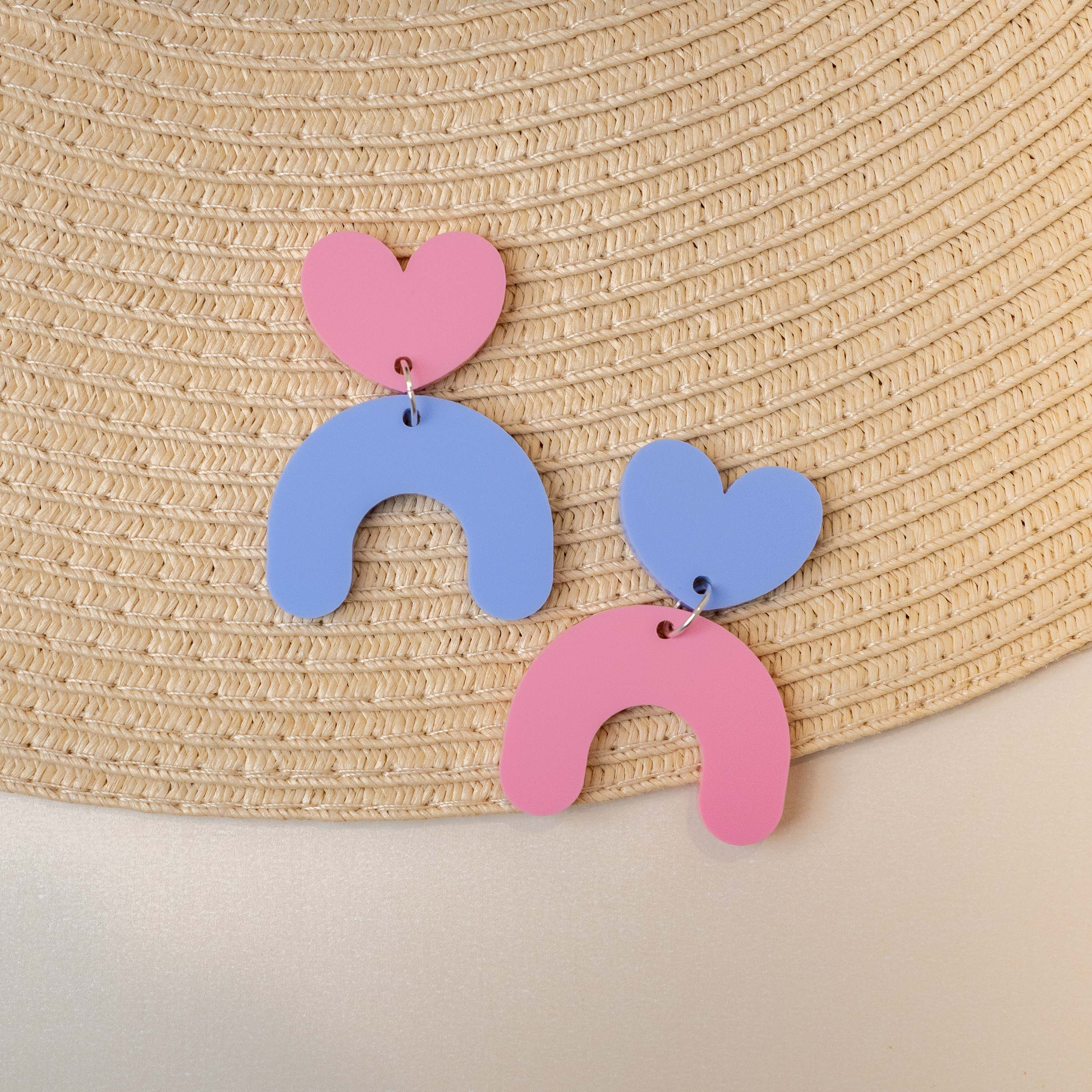 Mismatched Arch Hearts