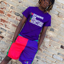 Load image into Gallery viewer, D.efining O.ur P.otential & E.xcellence Tee - Purple - 2dope4kidz.myshopify.com
