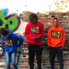 Load image into Gallery viewer, Elevate then Create Hoodie - 2dope4kidz.myshopify.com