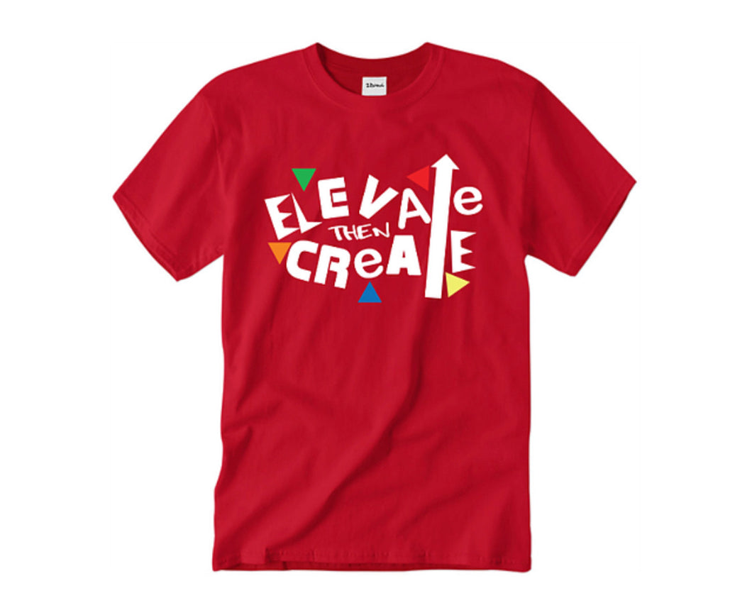 Create You Tee -Red - 2dope4kidz.myshopify.com
