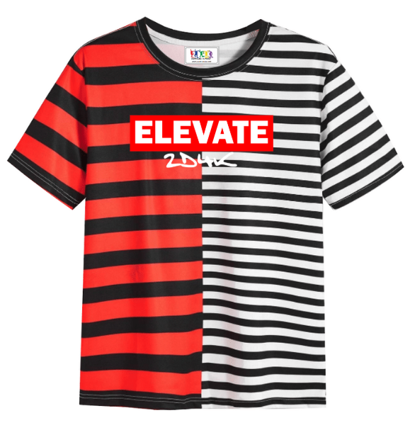 Higher Elevation Jersey Tee - Red/Black/White - 2dope4kidz.myshopify.com