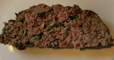 Delicious Spinach Meatloaf