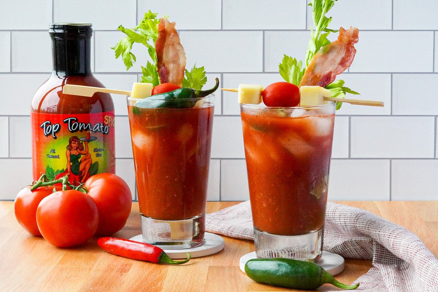 Top Tomato Spicy Bloody Mary