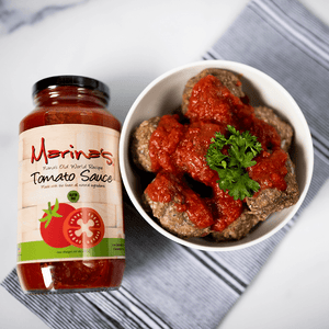 "Marina's ""ready to serve"" Gluten-Free Meatballs"