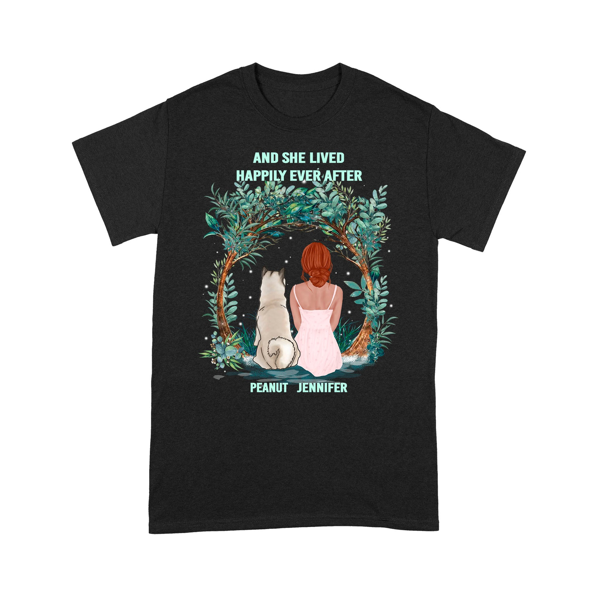And She lived happily ever after VHS 02 Standard T-shirt