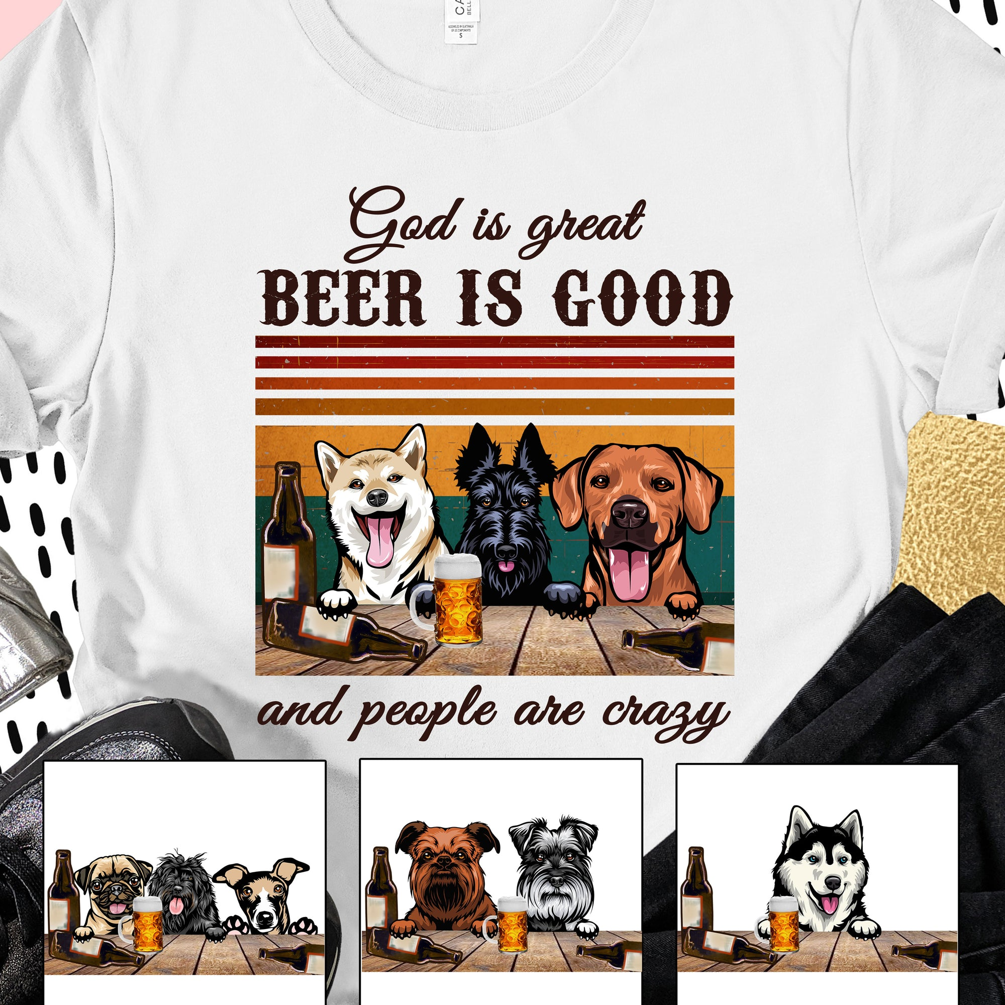 God Is Great, Beer Is Good And People Are Crazy - HNT8119