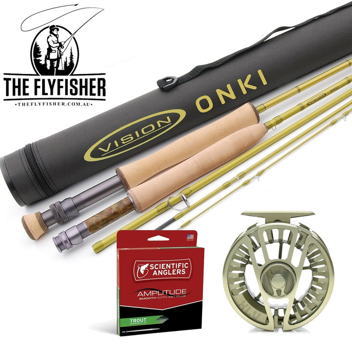The Flyfisher 899 Outfit (3 to 8 Weight)
