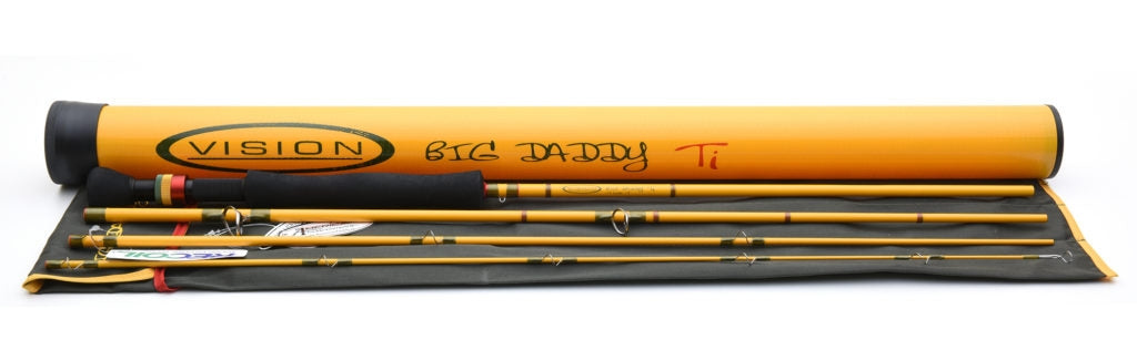 Vision Big Daddy Ti Fly Rods